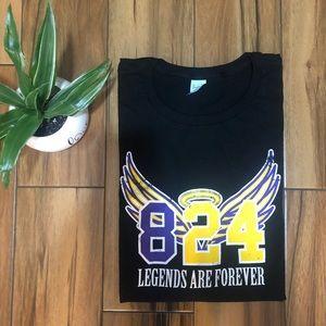 Men's XL Kobe Bryant Black T-Shirt
